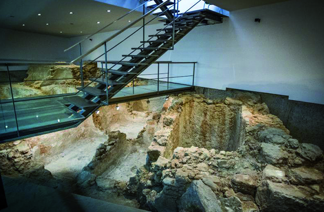 Römischen Reiches - Salzfabrik