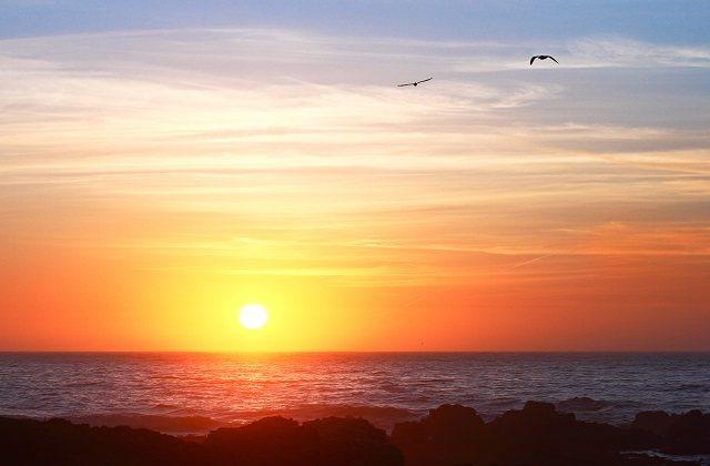 Sunsets in Andalucia - Flecha_de_El_Rompido,_Huelva