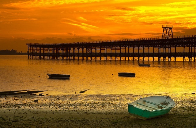 Sunsets in Andalucia - Muelle_del_Tinto