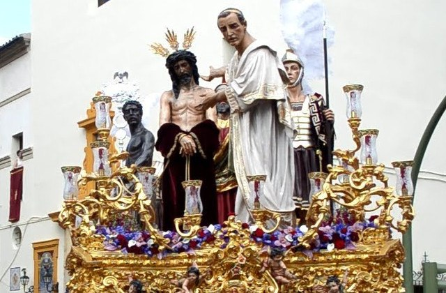 Easter Week processions in Andalucia - San Benito