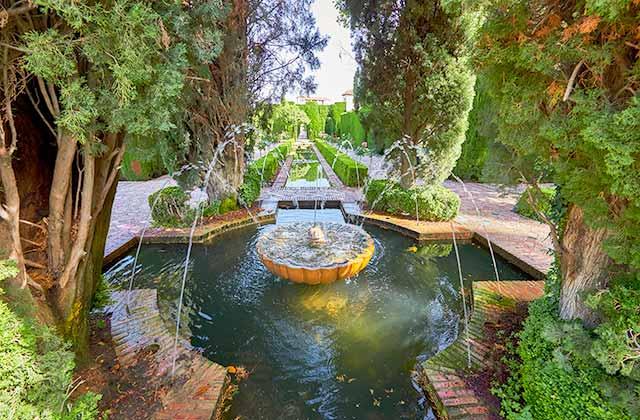 Jardines Generalife Alhambra