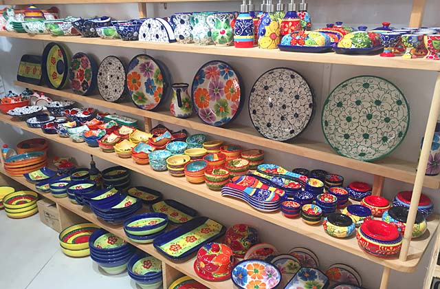 Shopping à Nerja - La Tienda de la Ceramica