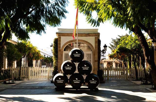 Jerez wineries - Bodegas Osborne-
