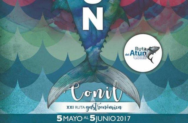 Ruta del atún en Conil - CARTEL RUTA ATUN CONIL 2017