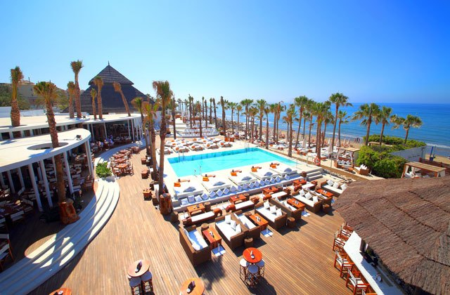 Marbella beach clubs - Nikki beach club