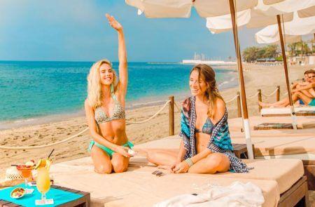 Marbella beach clubs