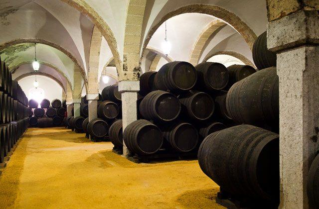 Jerez wineries - Bodegas Díez Mérito