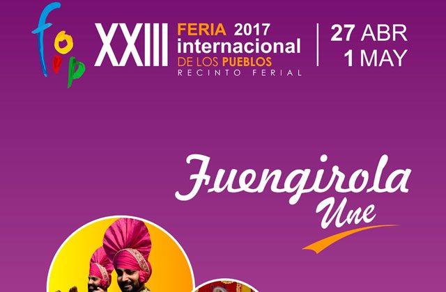 Feria Internacional de los Pueblos Fuengirola - cartel fip 2017