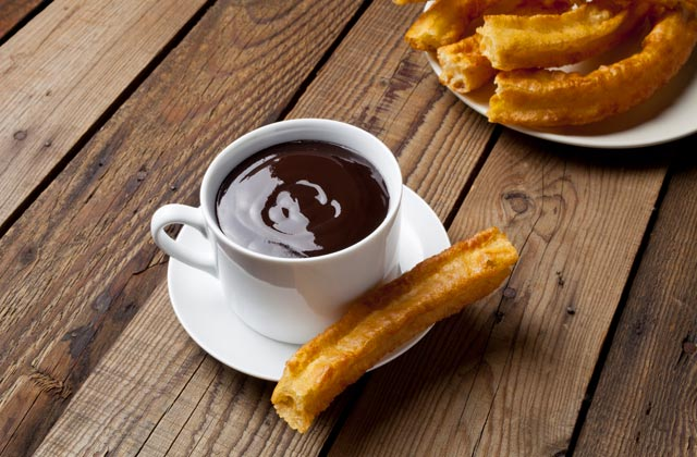 Where to eat churros in Ronda