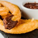 Chocolate con churros (porras)