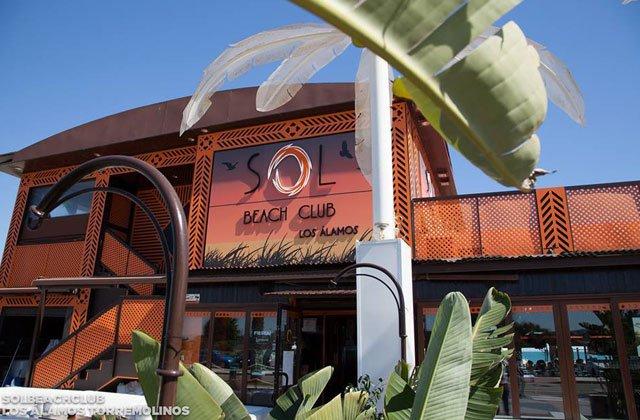 beach clubs de Marbella y alrededores - Sol beach club los alamos