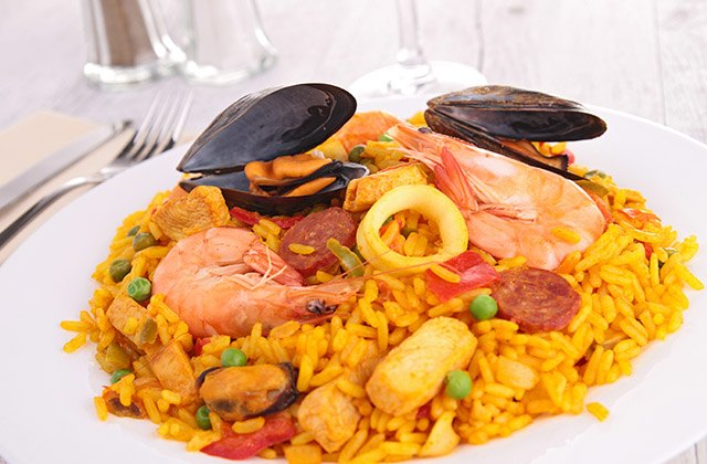 Where to eat paella in Malaga - El Colono