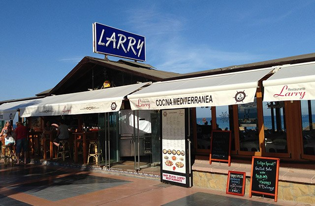 Where to eat paella in Malaga - Larry's