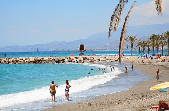 Motril tourism - Playa Torrenueva