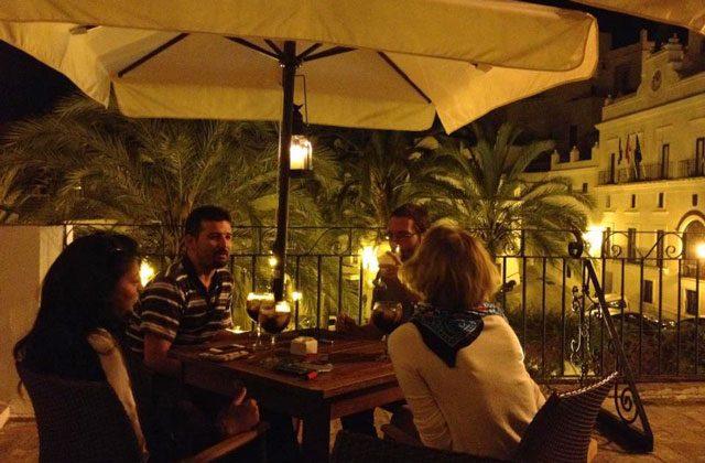 Vejer de la Frontera - restaurante La Brasa de Sancho