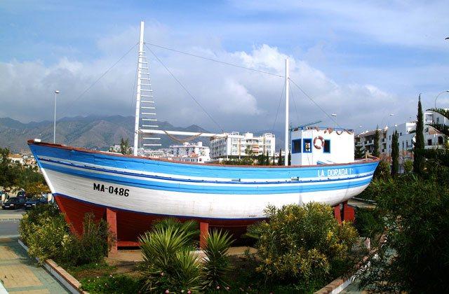 Choses à voir et à faire en Andalousie - barco de chanquete