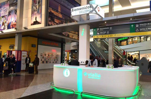 Ir de compras en Málaga - Centro Comercial Vialia