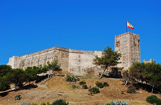 Visiter l'Andalousie en hiver - castillo de Sohail