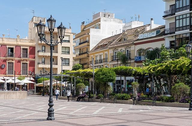 Fuengirola - town centre