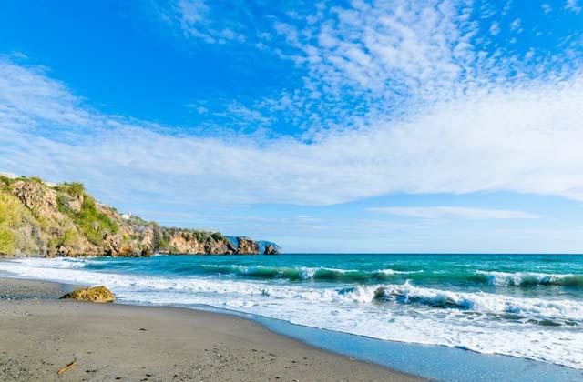 Strände in Andalusien - Caleta de Maro