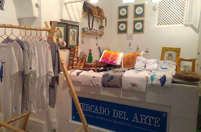 Flohmärkte und Märkte in Conil - mercado del arte