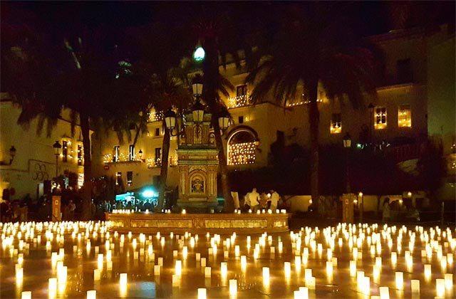Noche de las velas Vejer de la Frontera