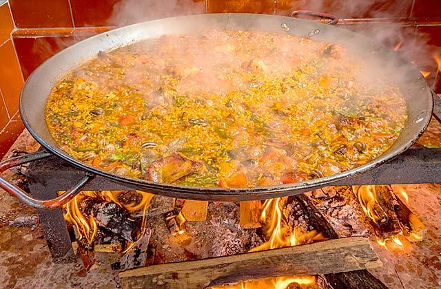 paellas en Málaga