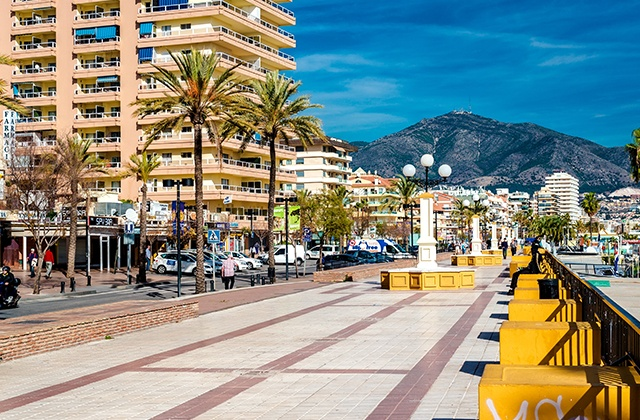 Fuengirola - Strandpromenade