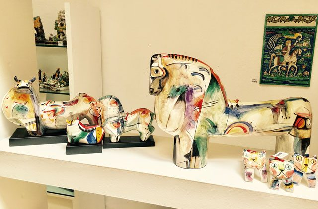 Malaga shopping - Alfajar. Arte en cerámica