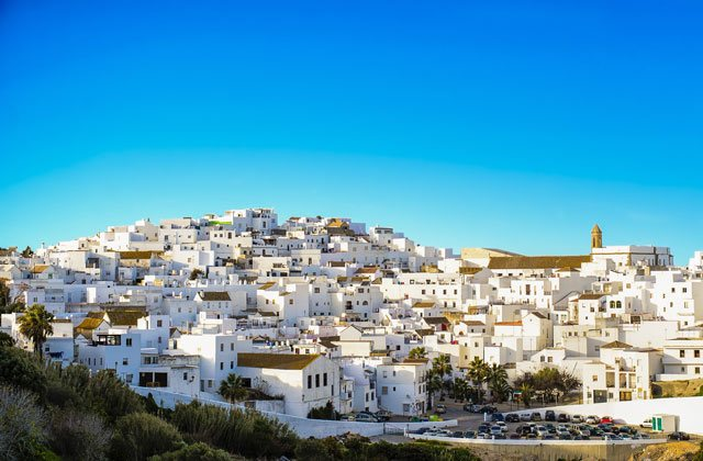The most beautiful villages in Andalucia - Vejer de la Frontera