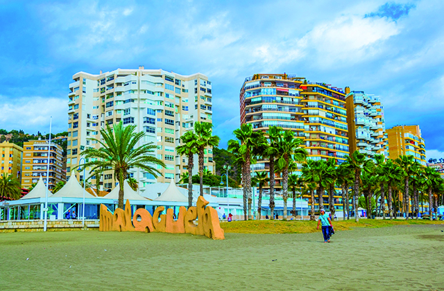 Les quartiers d'Andalousie - Malagueta, Málaga