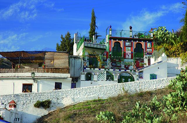 Les quartiers d'Andalousie - Sacromonte, Granada