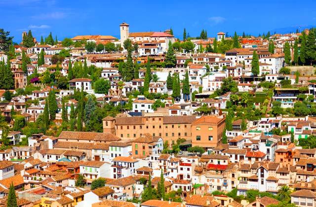 Les quartiers d'Andalousie - Albaicin Granada