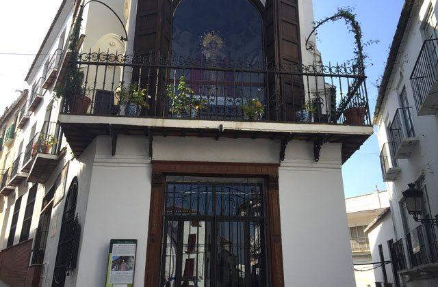 Cosas que ver y hacer en Vélez Málaga - Camerin virgen de la piedad