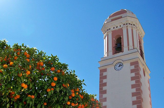 places of interest and Estepona monuments - Clock Tower