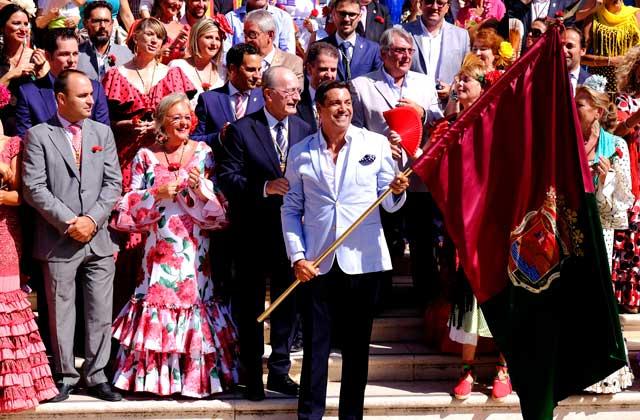 Málaga Fair (feria de Málaga) - Daniel Hierrezuelo, abanderado de la Feria de Málaga 2016