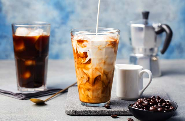 Bebidas de verano en Andalucía - cafe con hielo