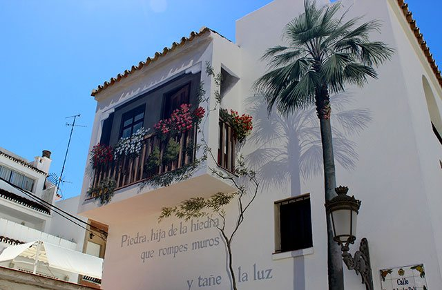 places of interest and Estepona monuments - murals