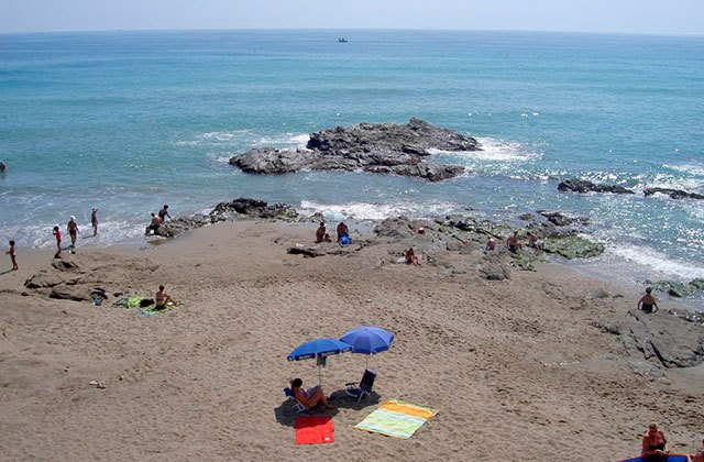 Costa del Sol beaches, Malaga beaches Andalucia