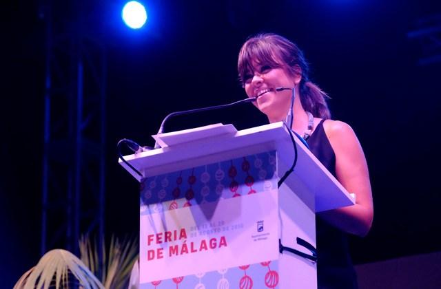 Málaga Fair (feria de Málaga) - Vanesa Martín, pregonera de la Feria de Málaga 2016
