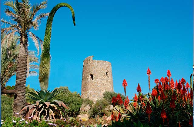 places of interest and Estepona monuments - Beacon towers