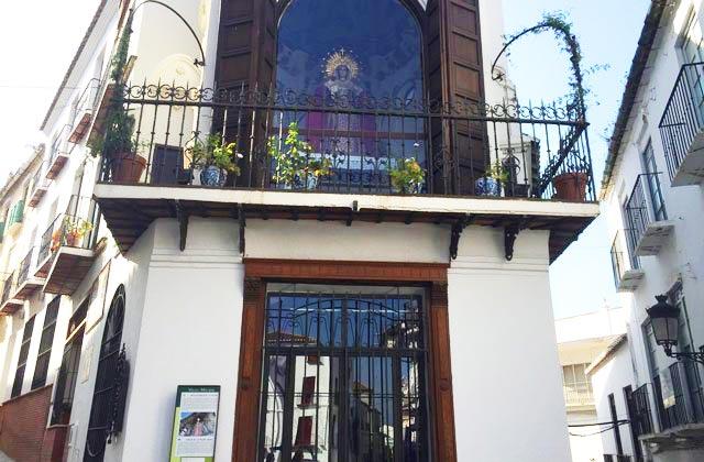 Camerín de la Virgen de la Piedad - Velez Málaga