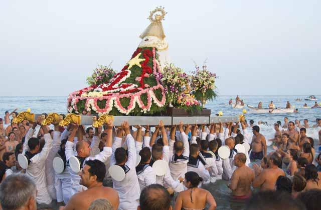 Virgen del Carmen -Editorial credit: tonisalado / Shutterstock.com