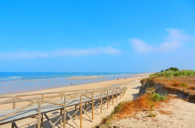 Costa de la Luz Strände - Playa Ballena
