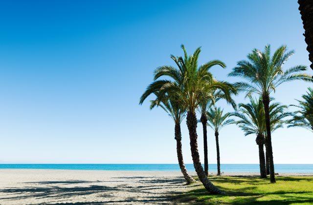 Carihuela beach Torremolinos