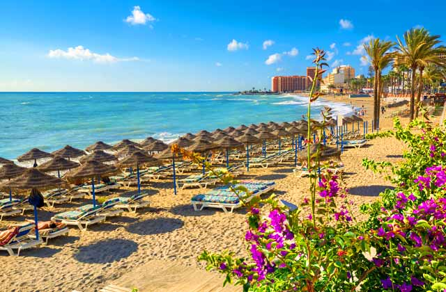 Costa del Sol beaches Malaga beaches Andalucia