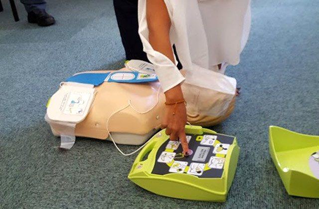 AED training, defibrillators Fuerte Hoteles