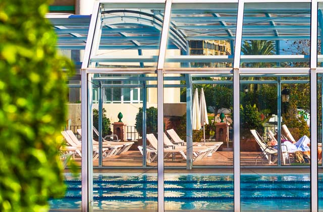 New year in Marbella - heated swimming pool