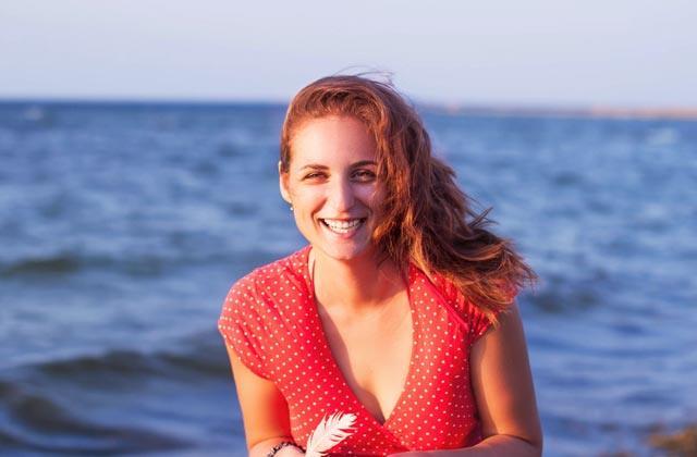 Playa en otoño - beneficios para la piel