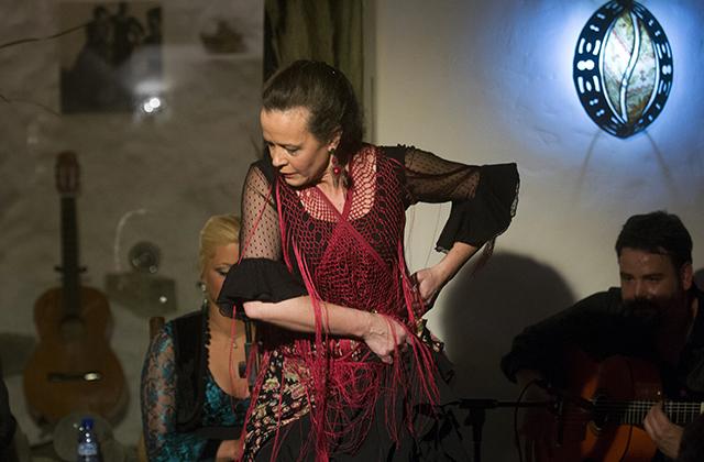Wo man Flamenco in Andalusien sehen kann - La Alboreá